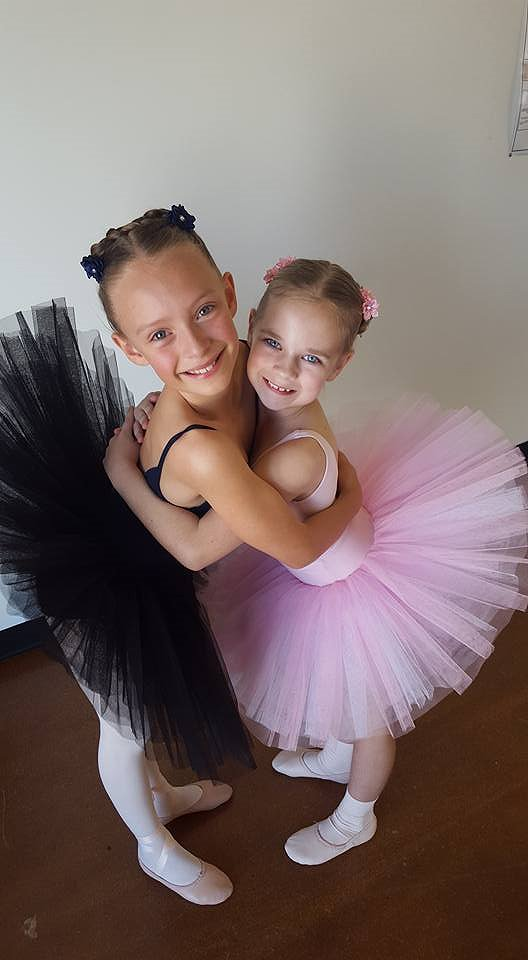 Young Dance Students
